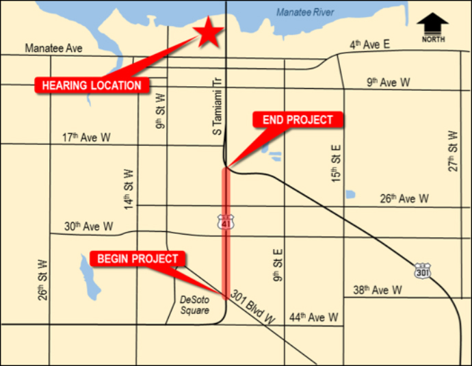 Link to South Tamiami Trail Location Map